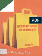 GIGLIO Ernesto Michelangelo O Comportamento Do Consumidor