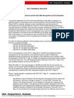 Technical Bulletin for Adhesive Anchors and 2012 IBC Recognition Technical Information ASSET DOC LOC 2069654 (1)