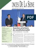 Edition Du Jeudi 4 Mars 2010 - 13