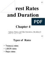 Interest Rates and Duration