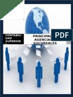 Principales, Agencias y Sucursales