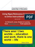 Using Rigor-Relevance Framework ICLE (1)