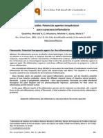 Flavonoides Antiinflamatorio Revisao Rev Virt Quimica#