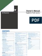 RX V367 Manual