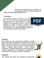 CRETIB CODIGO SIGNIFICADO de Corrosivo, Reactivo, Explosivo, Tóxico, Inflamable y Biológico-Infeccioso