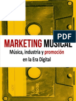Marketing Musical Musica Industria y Promocion en La Era Digital