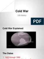 Cold War US History Notes
