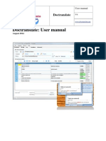 Doctranslate User Manual