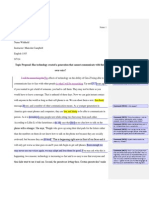 SAMPLE WORD to PDF Topic Proposal