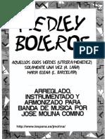 Medley Boleros - score
