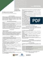 Convocatoria Concurso Nacional de Oratoria y Debate Público 2015