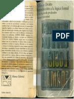 Introducción a La Lógica Formal Alfredo Deaño