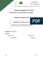 Rapport Mini Projet