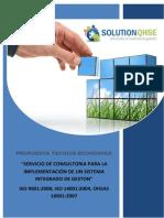 Frank´s-Propuesta Técnica-Económica N° 300-2014
