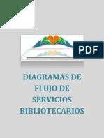 Diagramas de flujo servicios bibliotecarios