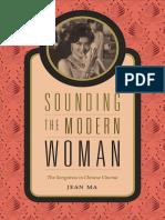 Sounding the Modern Woman by Jean Ma