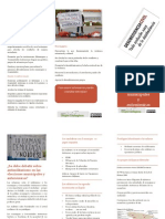 Tríptico Antimilitarismo y Elecciones Municipales y Autonómicas