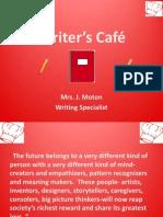 Writer's Café Presentation15