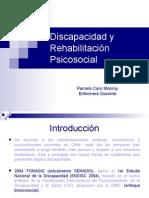 Discapacidad y Rehabilitacion Psicosocial