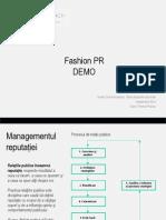 Demo Curs Fashion PR ICA