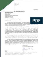 Enquirer letter
