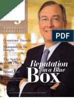 Canadian Jeweller Magazine August 2008