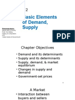 Ch 2 Basic Elements of Demand and Supply
