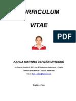 Curriculum Actualizado Kcu