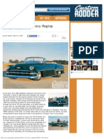 1954 Chevy Ragtop -HOT ROD