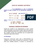 Covarianza y Correlación (2014-2)