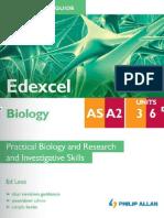 Student Unit Guide - Edexcel Biology Unit 3 & 6