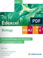 Student Unit Guide - Edexcel Biology Unit 3 & 6