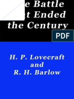 The Battle That Ended the Century - H. P. Lovecraft