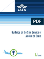 Guidance on the Safe Service of Alcohol on Board - April 2015