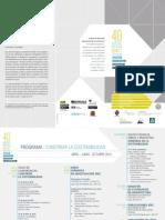 IDEC-FAU-PROGRAMA 40 AÑOS 2015