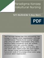 Paradigma Konsep Transkultural Nursing