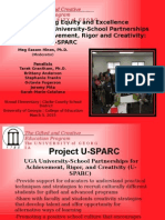 project u-sparc initiative