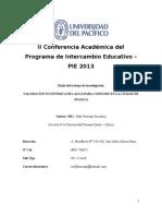 Articulo Valoración Económica Del Agua en La Ciduad de Juliaca GANADORA UNIVERSIDAD PACIFICO