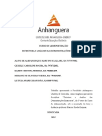 Atps de Estrutura e Analise Das Demonstrações Financeiras