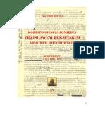 Beksiński Dmochowski listy tom 1