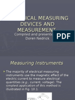 10. Electrical Measuring Devices and Measurement