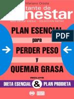 Orzola Mariano - Plan Esencial Para Perder Peso Y Quemar Grasa