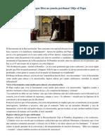 Francisco- Palabras a La Penitenciaria Apostólica 12-3-15 No Existe Algún Pecado Que Dios No Pueda Perdonar