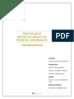 PROTOCOLOS INTERCULTURALES EN LA COMUNA DE RECOLETA