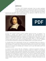Biografia Baruch de Spinoza
