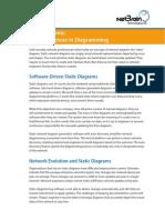 NetBrain TLA3 Static vs Dynamic Marked Differences in Diagramming