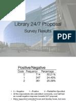 library 24-7 survey presentation
