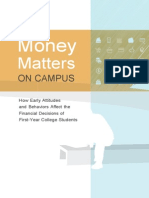 Money Matters on Campus Final Report