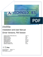 D-briDGe User Manual