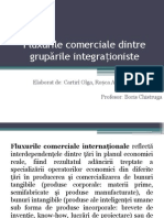 Fluxurile Comerciale Intre Gruparile Integrationiste